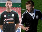Slezský FC Opava hlásí další dvě nové tváře: Matěj Končal (vlevo) a Jiří Mareš.