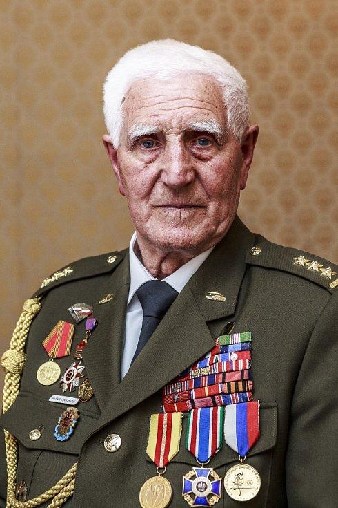 Plukovník Bedřich Opočenský.