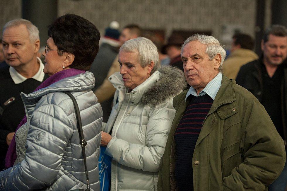 Premiéra filmu Baník!!! v Gongu v Dolní Oblasti Vítkovic 2. března 2018 v Ostravě.