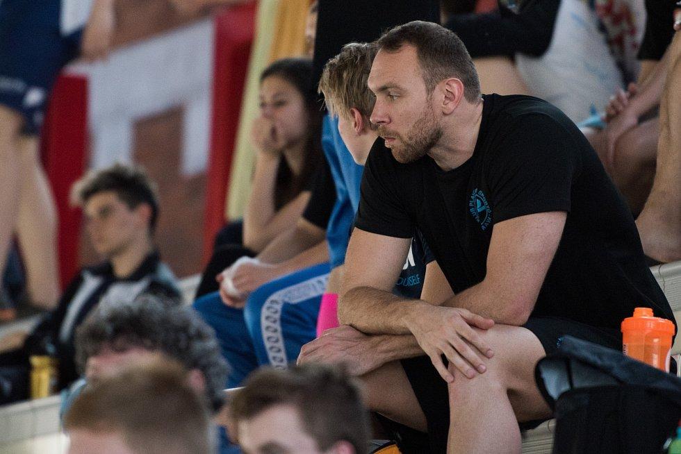 Velká cena Ostravy v plavání. Na snímku Michal Rubáček.
