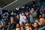 Utkání 17. kola hokejové extraligy: HC Vítkovice Ridera - Rytíři Kladno, 3. listopadu 2019 v Ostravě. Na snímku fanoušci HC Vítkovice Ridera.