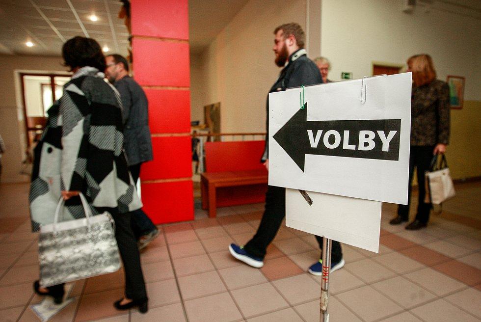 Volby 2017 v Ostravě.