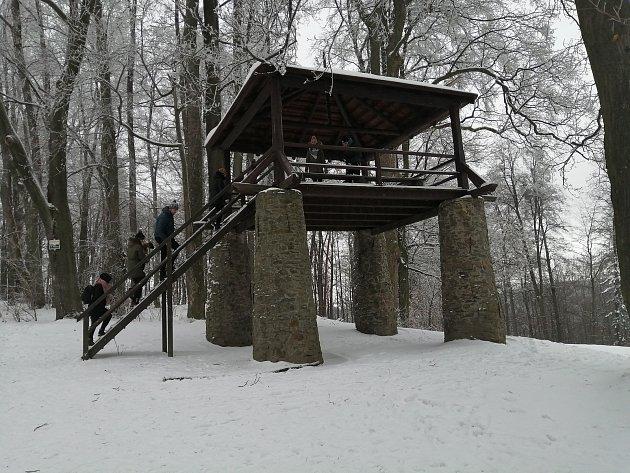 Bezručova vyhlídka, Hradec nad Moravicí.