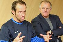 Trenér fotbalistů FC Baník Ostrava Karol Marko.