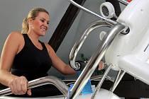 Andrea Kubinová při sportování v Česku vyhledává spíše menší a útulnější centra.