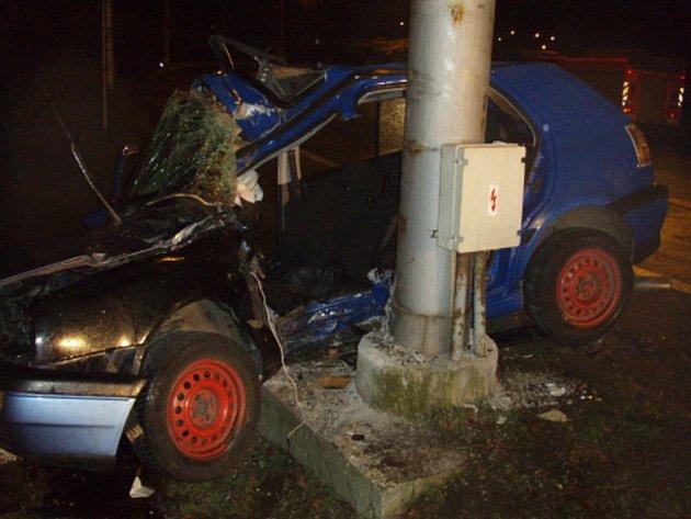 Nehoda v Ostravě.