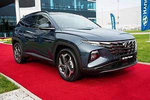 Hyundai Tucson v Nošovicích.