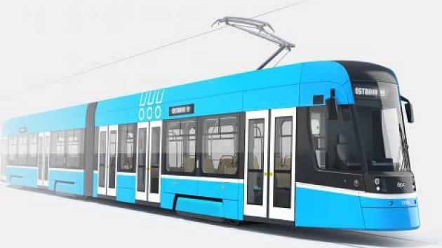 V Dopravním podniku Ostrava už vědí, jak bude vypadat čtyřicet nových tramvají Škoda ForCity Smart za 1,9 miliardy korun. Do soupravy se vejde 200 cestujících.