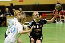 Házenkářky Poruby prohrály ve čtvrtfinále poháru v Olomouci na sedmičkové hody.