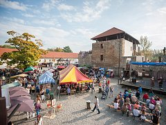 Hodokvas. Slezskoostravský hrad o víkendu nabízí vybraná jídla a pití.