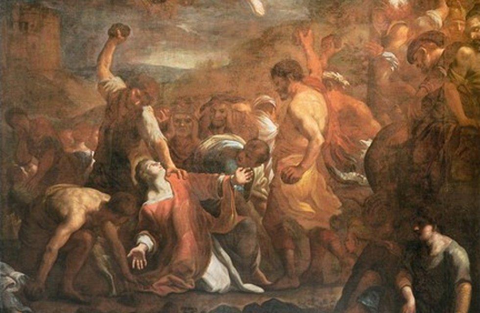 Karel Škréta: Kamenování svatého Štěpána