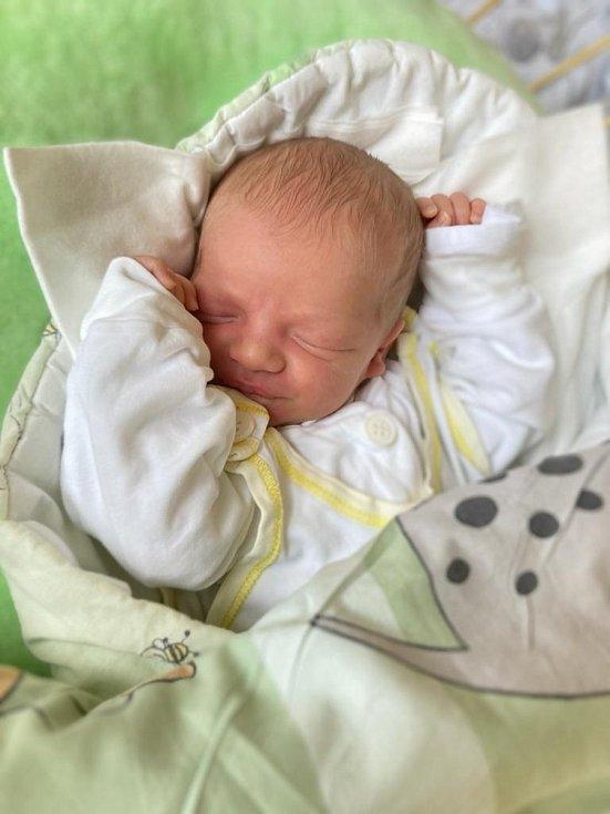 Zuzana Janecká, Velké Hoštice, narozena 27. dubna 2021 v Opavě, míra 51 cm, váha 3270 g. Foto: Tereza Fridrichová