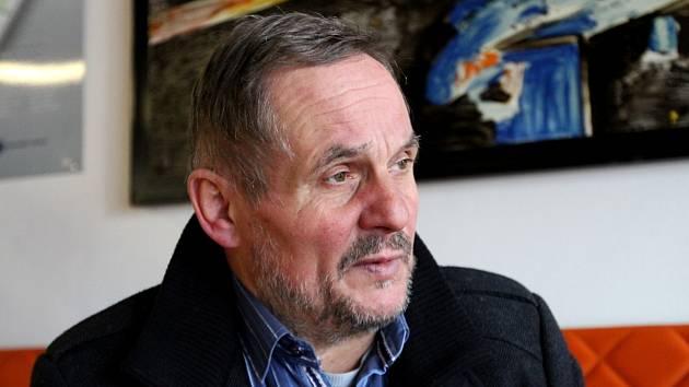 Předseda základní organizace Odborového svazu Kovo Lubomír Mišun