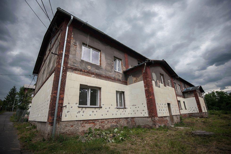 Stavba od podnikatele Rostilava Mitruse - Slezská Ostrava, ulice Kovařovicova.