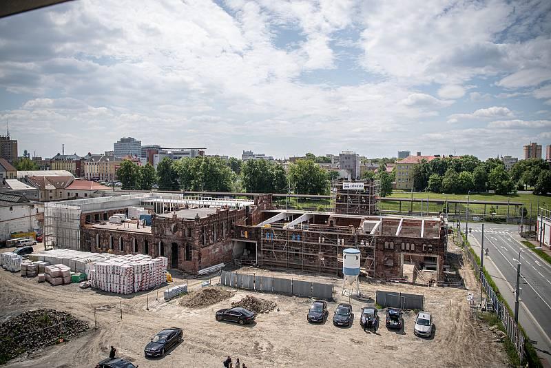 Městská jatka Ostrava, 1. června 2021.