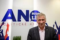 Volební štáb ANO 2011, 3. října 2020 v Ostravě. Ivo Vondrák.
