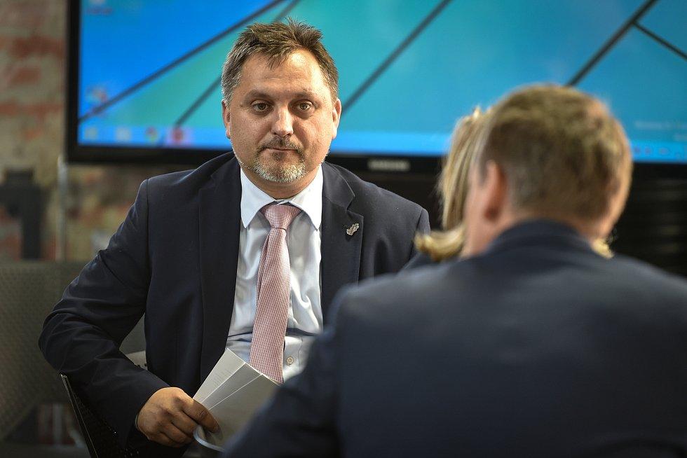 Setkání členů svazu průmyslu a dopravy ČR v Moravskoslezském kraji, 16. října 2018 v Ostravě. Na snímku Jan Rafaj.