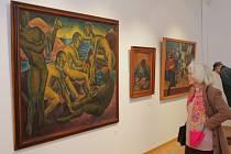 Umělecké skvosty na současné výstavě nazvané Svářy zření v ostravském Domě umění přitahují do výstavní síně řadu návštěvníků.