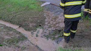 Následky bouřek v neděli 25. 8. 2019 na severu Moravy a ve Slezsku