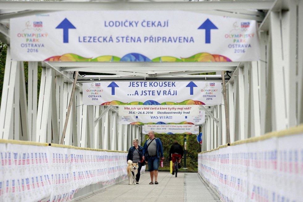 Olympijský park v Ostravě.