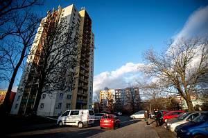 Dům kde bydlel Ctirad V. - střelec z Fakultní nemocnice Ostrava.