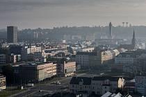 Ostrava při pohledu z výšky. Ilustrační foto.