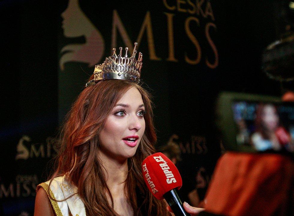 Vyhlášení české Miss 2018 v Gongu.Vítězka České Miss 2018 Lea Šteflíčková