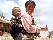 Snímky z Tibetu k rozhovoru s tibetoložkou Zuzanou Ondomišiovou