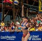 Turnaj Světové série Ostrava Beach Open, 21. června 2018, na snímku Kristýna Kolocová