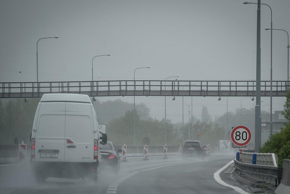 Ostravská část dálnice. Ilustrační foto.