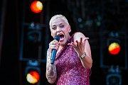 Hudební festival Colours of Ostrava 2019 v Dolní oblasti Vítkovice, 18. července 2019 v Ostravě. Na snímku Mariza.