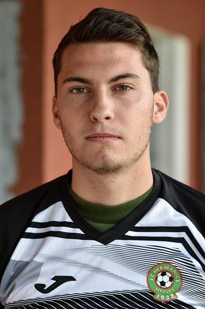 David Podešva, útočník.