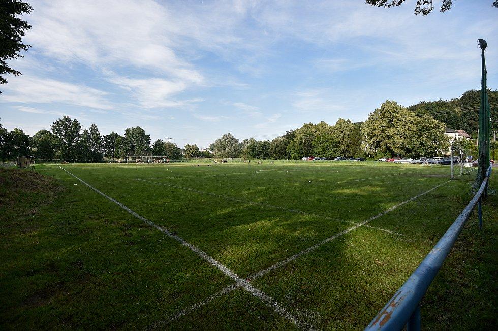 Fotbalový klub Stará Bělá, 10. července 2020 v Ostravě.