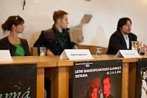Tisková konference k Shakespearovským slavnostem 2013