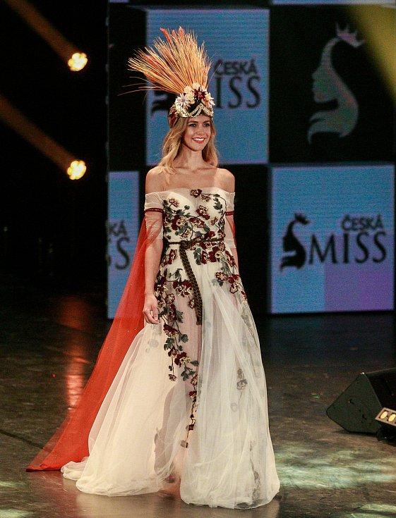 Vyhlášení české Miss 2018 v Gongu.Mariana Bečková
