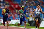 Atletický mítink IAAF World Challenge Zlatá tretra v Ostravě 20. června 2019. Na snímku Mike Rodgers z (USA).