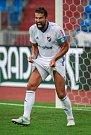 I. liga, 4. kolo, FC Baník - FK Teplice: 3 : 3, na snímku Milan Baroš