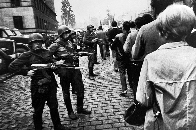 Srpen 1968na severní Moravě a ve Slezsku: demonstrace, zaťaté pěsti a nadávky