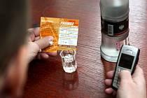 Hladinu alkoholu v krvi lze zjistit také prostřednictvím SMS dotazu.
