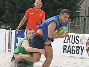 Po roce si ragbyoví příznivci mohou vychutnat plážovou podobu tohoto sportu. Tentokrát v srdci města na Masarykově náměstí.