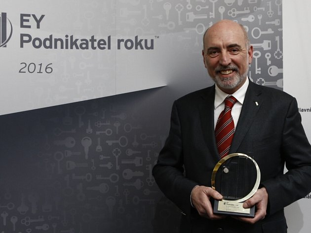 Jan Hasík, generální ředitel a majitel společnosti HSF System a EY Podnikatel roku 2016 Moravskoslezského kraje.