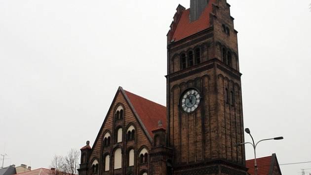 Evangelický kostel Krista v Moravské Ostravě