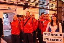 Slavnostní zahájení ME hasičů ESF ve futsalu v ostravském Hornickém muzeu