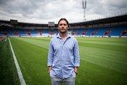 Předsezonní tisková konference FC Baník Ostrava, 10. července 2019 v Ostravě. Na snímku Marek Jankulovski.