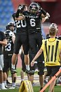 Finále české ligy amerického fotbalu Czech Bowl mezi Ostrava Steelers a Prague Black Panthers v Ostravě 14. července 2018.