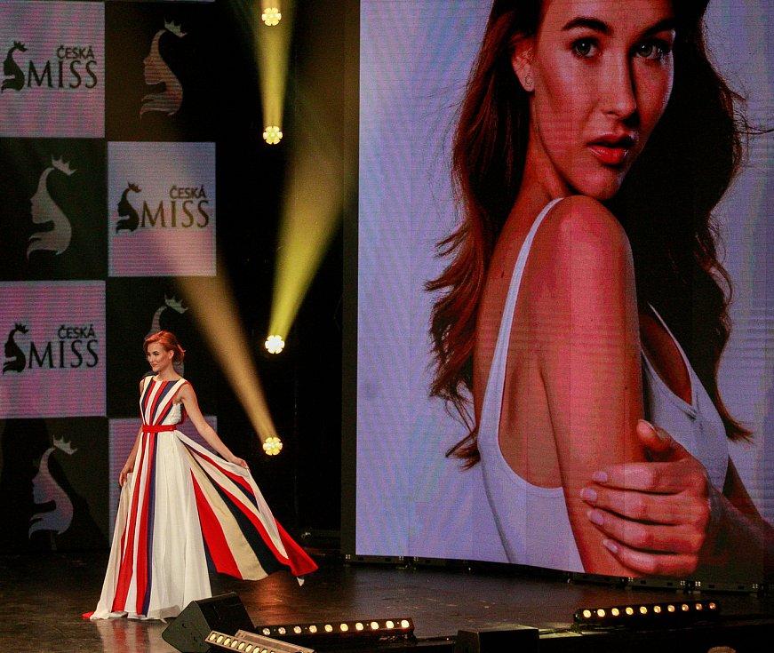 Vyhlášení české Miss 2018 v Gongu.Jana Šišková