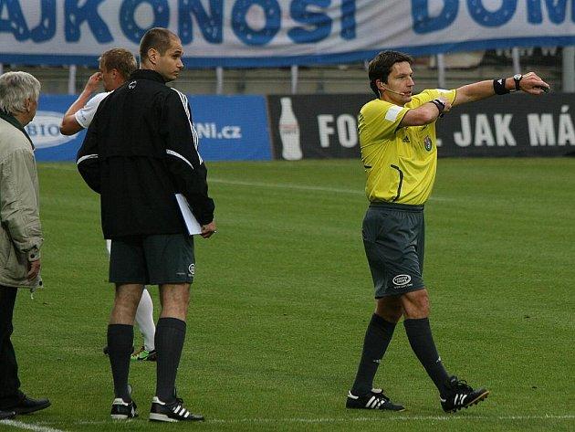 Z utkání 30. kola Gambrinus ligy: Příbram – Ostrava (1:1), hraného 15. května 2010.