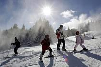 Visalajský lyžařský svah dnes patří k těm opravdu nejhezčím.