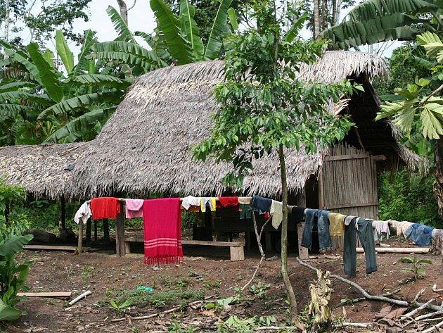 Obyvatelé Ekvádoru žijí v početných rodinách v domcích postavených na vodě a většinou jen z bambusu.
