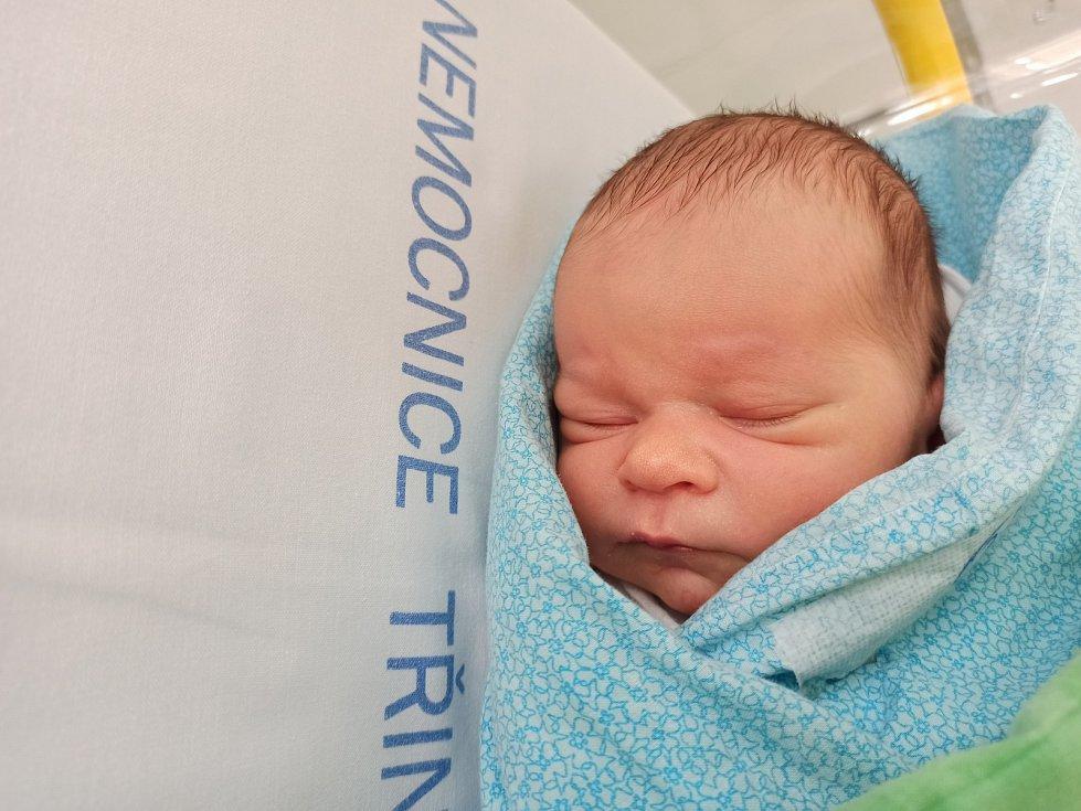 David Polok, Třinec, narozen 19. února 2021, míra 49 cm, váha 2 830 g. Foto: Gabriela Hýblová